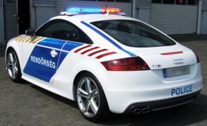Audi TT Hungary Police